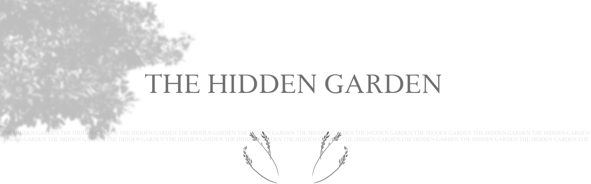 The Hidden Garden